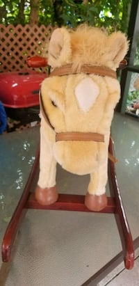 Wooden Rocking horse for toddlers Toronto, M6M 4E1