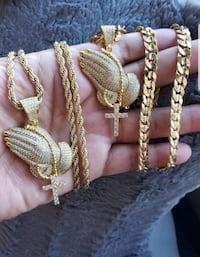 Pendants with Chains