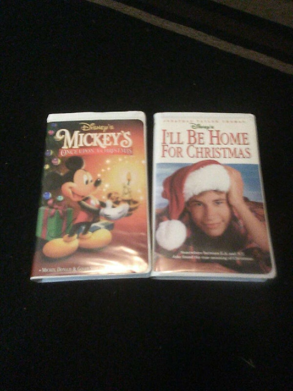 Ill Be Home For Christmas Vhs.Two Christmas Movies Vhs Cassette