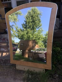 Mid century mirror large Oklahoma City, 73112