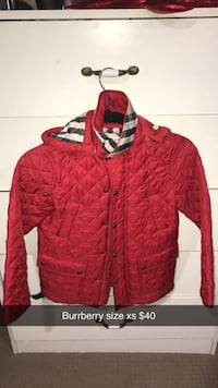 Burrberry jacket sm