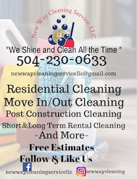 House cleaning New Orleans, 70112