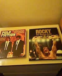 Rocky the ultimate guide and Pulp Fiction the comp Miami Beach, 33141