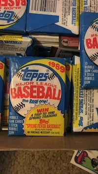 1989 topps major league baseball trading cards 42 km