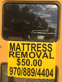 mattress removal  Fort Collins