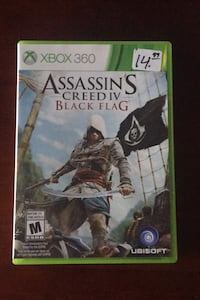 Assassin's Creed IV Black Flag Xbox 360 Vaughan, L4K 1H2