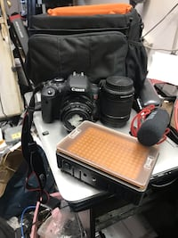 Canon t6i extra Lana bag and accessories Baltimore, 21215