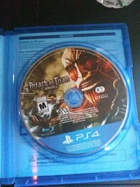 Attack on titan Ps4 Dundalk, 21222