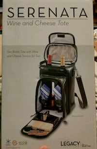 Serenata Wine& Cheese Tote,The legacy collection