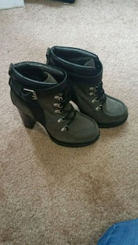 Nine West Suede and leather booties. Beaverton, 97005