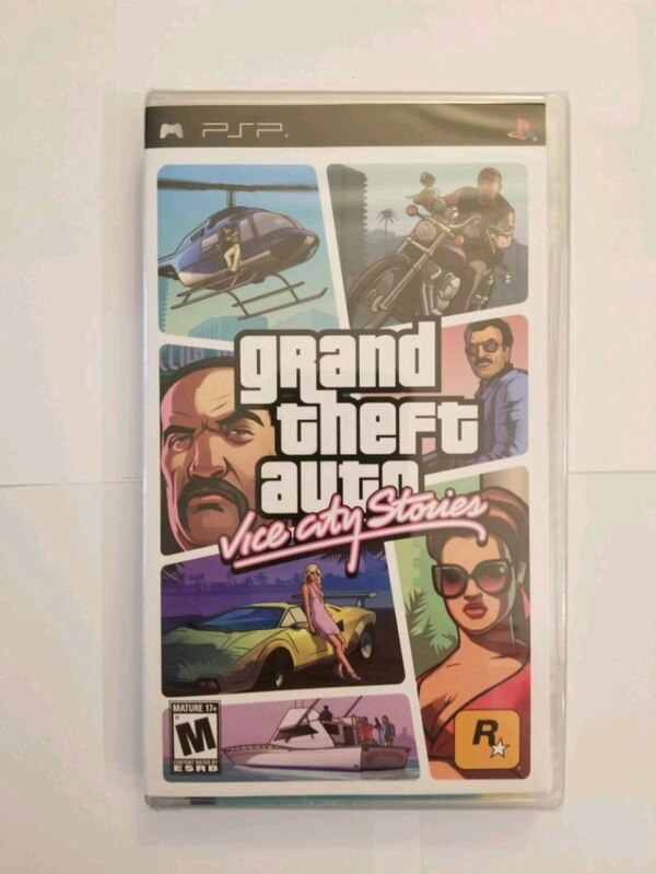 Sealed PSP GTA Vice City Stories