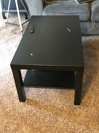 Black brown coffee table from Ikea  Lanham, 20706