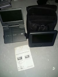 Dolby digital dual screen portable DVD