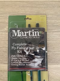 Martins fly fishing kit - unopened  Arlington, 22201