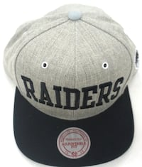 Extremely rare RAIDERS Mitchell and Ness Snapback Los Angeles, 91325