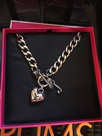 "Juicy couture 14"" necklaces, Rose gold or Silver. Brand New. Henderson, 89052"