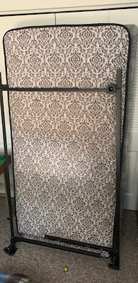 Twin size mattress frame and box spring York