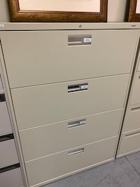 Cream 4 Drawer Lateral Tigard, 97223