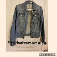 Guess jean jacket  London, N6P 1P6