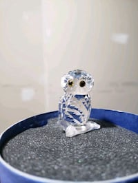 swarovski owl $15 with box jewelry box new $10
