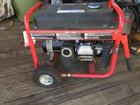 Red and black portable generator Silver Spring, 20906