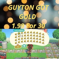 Animal Crossing (Gold) Nuggets