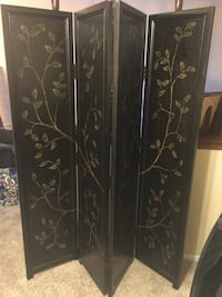 brown wooden 3-panel room divider San Antonio, 78256