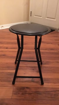 round black wooden side table Laval, H7T 2S1