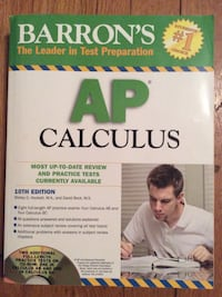 Barron's AP Calculus Book Mount Vernon, 10553
