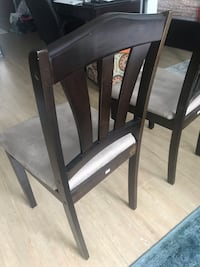 Dining Chairs - Set of two; used but not much. Already assembled. Buyer will need to come pick it up Jersey City, 07302