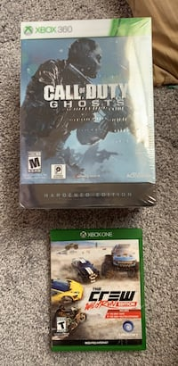New in plastic for Xbox 360 -Call of duty ghosts hardend edition f Bowie, 20720