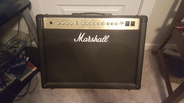 Used Marshall Ma100c Gutar Tube Amp Combo For Sale In Fayetteville