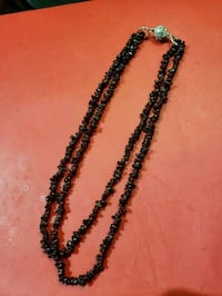 black and silver-colored necklace Bradford West Gwillimbury, L3Z