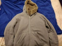 AX grey hoodie/H&M black jacket/ Club Monaco Navy Richmond, V6X 2M2