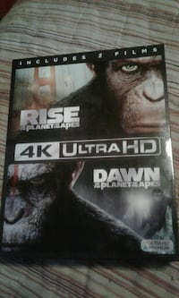 Rise Of the Planet of The Apes DVD case