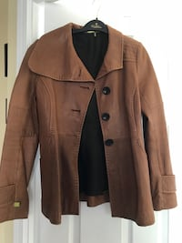 Soia and Kyo leather jacket  Toronto, M2N 7K4