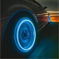 4-Pack: Motion Activated LED Tire Valve Stem Lights Palm Coast