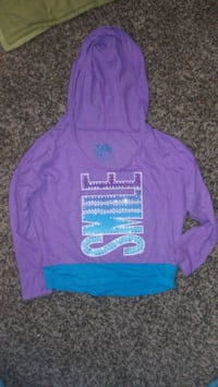 Lil Girls Justice Hooded Long Sleeved