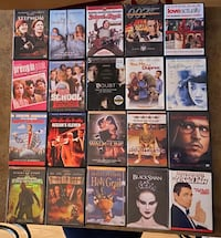 Over 60 used DVD's Clarksville, 21029