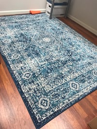 Vintage inspired blue rug Ashburn, 20147