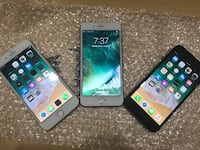 silver iPhone 6 with black iPhone 7 Boston, 02115
