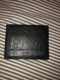 Calvin Klein men's leather logo bi-fold wallet Edmonton, T5C 3C6