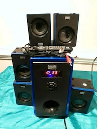 Acoustic audio home theater AA-5102