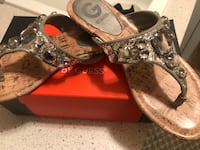Guess sandals.  Size 7 1/2