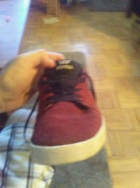 Red supra skateboarding shoes Edmonton, T5H 4E5