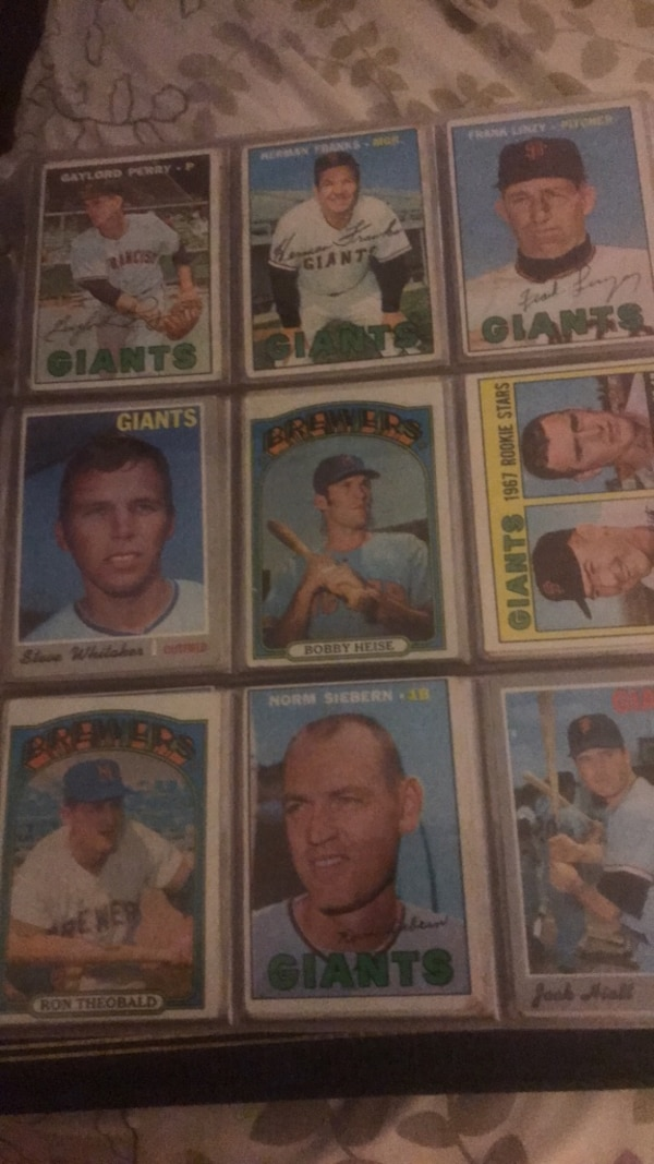 Baseball football cards  5