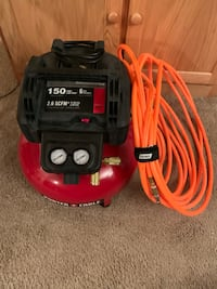 red and black Craftsman air compressor Sykesville, 21784