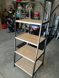 4 tier shelf. 60H x 24L x 19W.  Omaha, 68122
