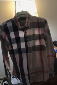 Burberry London Long sleeve Button down Fords, 08863