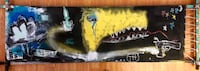 Black & Yellow Monster Painting Los Angeles, 91352